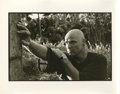 "Movie/TV Memorabilia:Photos, Marlon Brando ""Apocalypse Now"" Tree Photo by Mary Ellen Mark. A 14"" x 11"" b&w silver gelatin print of Marlon Brando leaning ..."
