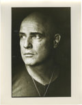 "Movie/TV Memorabilia:Photos, Close-up of Marlon Brando as Colonel Kurtz by Mary Ellen Mark. A very nice 11"" x 14"" silver gelatin print of a tight close-u..."