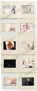 "Movie/TV Memorabilia:Photos, Set of 10 Slides of Marlon Brando in ""Superman."" This set of ten great color slides features rare, unpublished images of Mar..."