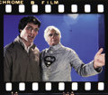 "Movie/TV Memorabilia:Photos, Slides of Unused Marlon Brando ""Superman II"" Footage. This set ofuncut color slides features 13 rare and unpublished images..."