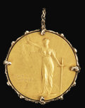 Movie/TV Memorabilia:Memorabilia, Sammy Davis Jr.'s NAACP Medal. Created by Joel Elias Springarn and awarded annually by the National Association for the Adva...