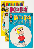 Silver Age (1956-1969):Humor, Richie Rich File Copies Group (Harvey, 1965-70) Condition: Average VF/NM.... (Total: 67 Comic Books)