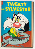 Silver Age (1956-1969):Cartoon Character, Tweety and Sylvester #4-35 Bound Volumes (Dell, 1954-62)....(Total: 7 Items)