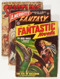 Pulps:Science Fiction, Assorted Science Fiction Pulps Box Lot (Various, 1940s-'50s)Condition: GD....