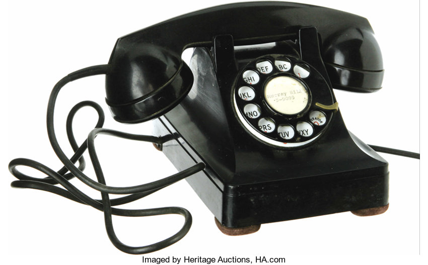 Movie Tv Memorabilia Props Prop Telephone From I Love Lucy