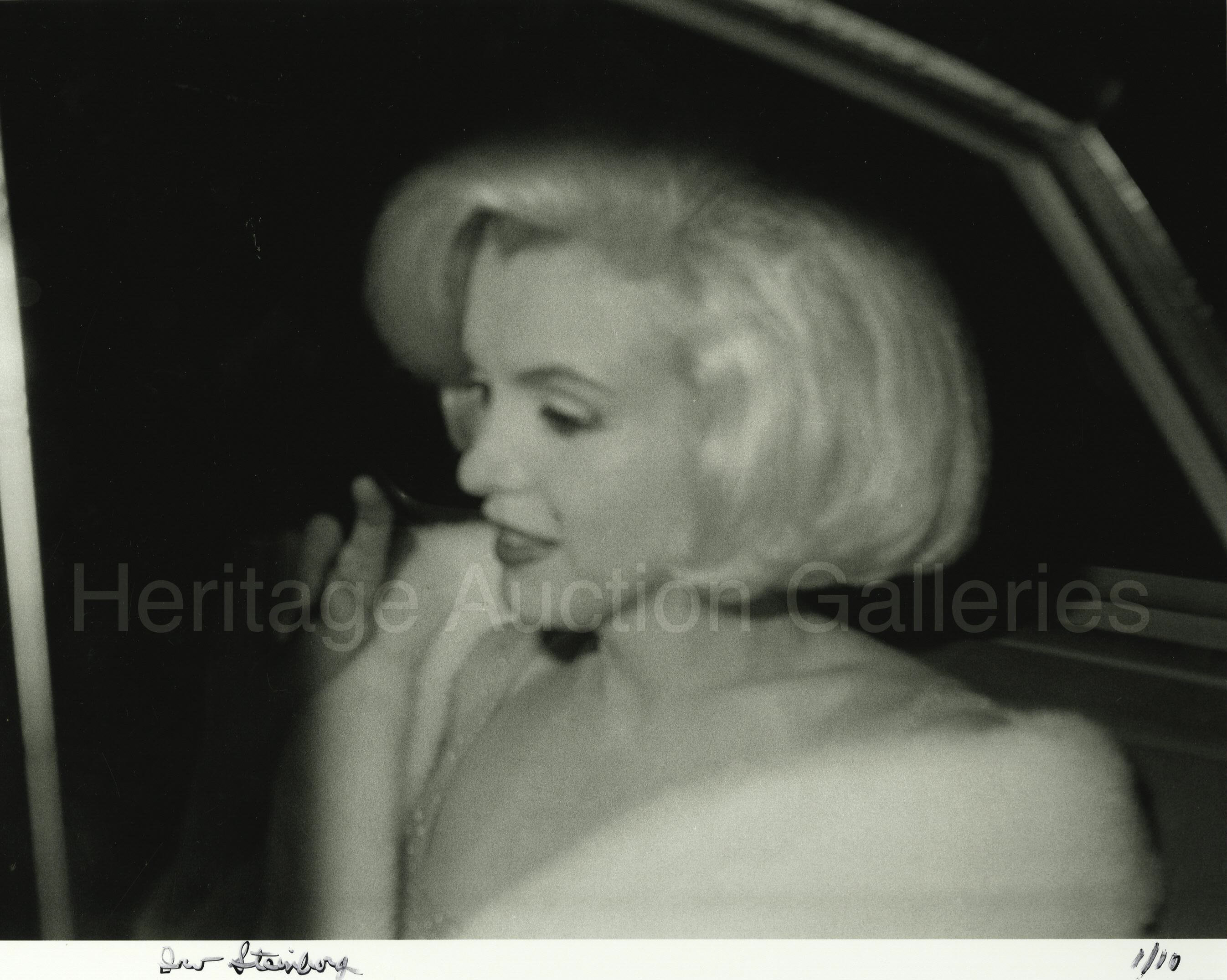Marilyn Monroe Happy Birthday Mr President Limited Edition Lot 24115 Heritage Auctions