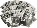Movie/TV Memorabilia:Photos, Rare Vintage James Dean Promotional Photos. This large collectionof rare b&w photos includes nine promo stills from East...