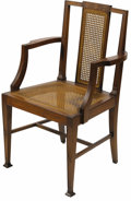 Movie/TV Memorabilia:Memorabilia, James Dean Chair from Visit to Kenneth Kendall. This innocuous butattractive wooden chair was sat in by Dean during a Janua...