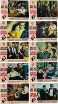 "Movie/TV Memorabilia:Posters, ""Rebel Without a Cause"" (Warner Brothers, 1955). Spanish Lobby CardSet of Ten (9.5"" X 13.5""). This is a set of full-color l... (Total:10 Items)"