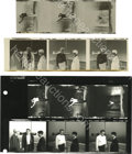"Movie/TV Memorabilia:Photos, Contact Sheet of Six Shots from ""Rebel Without a Cause"" and Negatives. Here are a half-dozen shots from Rebel, all featu..."