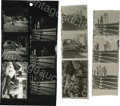 "Movie/TV Memorabilia:Photos, Contact Sheet of Six Shots for ""Rebel"" and Negatives. This lotincludes five shots of the classic ""Chickie Race"" scene, show..."