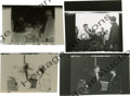 "Movie/TV Memorabilia:Photos, Two Contact Sheet Proofs of James Dean in ""Rebel"" with Negatives.These two highly dramatic shots include James Dean with Sa...(Total: 2 )"