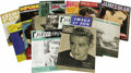 Movie/TV Memorabilia:Memorabilia, Vintage James Dean Magazines from France. Set of 16 Frenchmagazines with Dean covers and feature stories, publishedbetween...