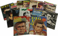 Movie/TV Memorabilia:Memorabilia, Fifteen James Dean Movie Magazines. Set of 15 assorted U.S.magazines with Dean-themed covers and/or feature stories, spanni...