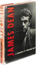 Movie/TV Memorabilia:Memorabilia, Rare Hardcover Edition of James Dean Bio by William Bast. Ahardbound edition of the first book about James Dean, written by...