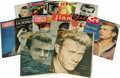Movie/TV Memorabilia:Memorabilia, Set of James Dean Tribute Magazines from Europe. Included are twocopies of Vecko Revyn (Denmark, 1956) and one copy eac...