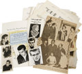 Movie/TV Memorabilia:Documents, James Dean Memorial Foundation Archive. A large selection ofletters, some photos, event programs, newspaper clippings, and ...