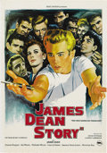 "Movie/TV Memorabilia:Posters, James Dean Re-Release Poster Lot (Warner Brothers, Various).Swedish Poster (12"" X 27.5""), Israeli Poster (20"" X 27.5""), Fre...(Total: 6 Items)"