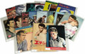 Movie/TV Memorabilia:Memorabilia, James Dean Movie Programs from Japan. Set of 18 assorted James Deanmovie program booklets from Japan, printed between 1963-...