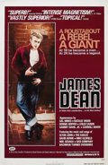 """Movie/TV Memorabilia:Posters, """"James Dean: The First American Teenager"""" (ZIV International, 1976) and """"Rebel Without a Cause"""" (Warner Brothers, R-1960s). ... (Total: 2 Items)"""