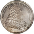 German States:Saxony, German States: Saxony. Friedrich August II, as King of Poland andSaxony, Mining Taler 1757IDB,...