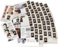 Movie/TV Memorabilia:Memorabilia, Set of James Dean U.S. Post Office Commenorative Stamps. Set of 45 U.S. Post Office's James Dean commemorative stamps, most ...