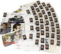 Movie/TV Memorabilia:Memorabilia, Set of James Dean U.S. Post Office Commenorative Stamps. Set of 45U.S. Post Office's James Dean commemorative stamps, most ...