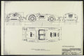 Movie/TV Memorabilia:Memorabilia, Framed Blueprint of James Dean's Porsche 550 Spyder. Germanblueprint drawings of the Porsche 550 Spyder, framed to an overa...
