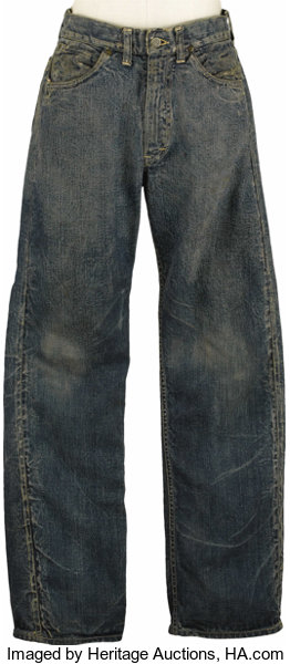 52eaaef1 Jeans Worn by James Dean in