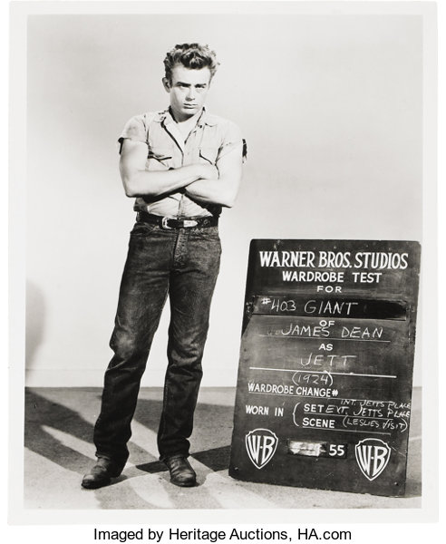 d76b9edc Jeans Worn by James Dean in