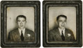 Movie/TV Memorabilia:Photos, Original James Dean Photo Booth Pictures from 1949. This uniquepair of photos features an 18-year-old Dean and was taken in...