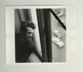 "Movie/TV Memorabilia:Photos, ""James Dean at Window of New York Apartment"" Original Photo by RoySchatt. A classic photo of James Dean published on page 1..."