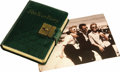 Movie/TV Memorabilia:Autographs and Signed Items, Lili Kardell's Diary with Entry About James Dean. This five-year diary formerly belonged to Swedish actress and Dean's one-t...