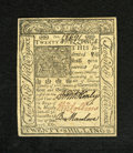 Colonial Notes:Delaware, Delaware January 1, 1776 20s Gem New. A crisp and incredibly freshexample from this Delaware issue that has three bold sign...