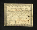 Colonial Notes:Rhode Island, Rhode Island July 2, 1780 Fully Signed $4 About New. This fullycountersigned note by Jonathan Arnold has good margins and b...