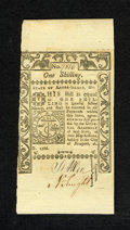 Colonial Notes:Rhode Island, Rhode Island May 1786 1s New++. An incredible superb gem note interms of paper quality as it is as well printed and boldly ...