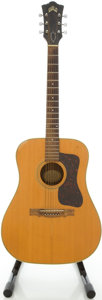 Musical Instruments:Acoustic Guitars, Circa 1967 Guild D-40 Natural Acoustic Guitar, #AJ-1391....