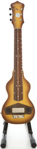 Musical Instruments:Lap Steel Guitars, 1943 Kalamazoo Oriole Lap Steel Guitar, #F771-22....
