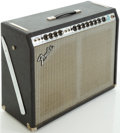 Musical Instruments:Amplifiers, PA, & Effects, Late 1970's Fender Pro Reverb Silverface Guitar Amplifier, #A958692....