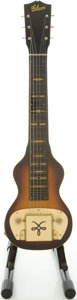 Musical Instruments:Lap Steel Guitars, Circa 1946 Gibson BR-6 Sunburst Lap Steel Guitar....