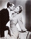 """Movie Posters:Hitchcock, Cary Grant and Joan Fontaine in Suspicion (RKO, 1941). Portrait Photo (10"""" X 13"""").. ..."""