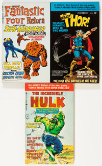 Assorted Comic Book Paperbacks Group (Various, 1960s) Condition: Average NM.... (Total: 10 Items)