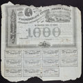 Confederate Notes:Group Lots, Ball 210 Cr. UNL $1000 Bond 1863 Fair.. ...