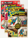 Silver Age (1956-1969):Superhero, 80 Page Giant Group (DC, 1964-65) Condition: GD/VG.... (Total: 6 Comic Books)