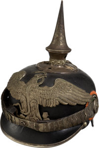 Mexican Officers' Spiked Helmet (Pickelhaube)