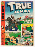 Golden Age (1938-1955):Non-Fiction, True Comics #55 (True, 1946) Condition: VG....