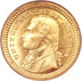 Commemorative Gold, 1903 G$1 Louisiana Purchase/Jefferson MS67 PCGS. CAC....