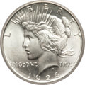 Peace Dollars, 1926-D $1 MS67 PCGS....