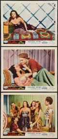 "Movie Posters:Adventure, Aladdin and His Lamp (Monogram, 1952). Lobby Cards (3) (11"" X 14"")& Uncut Pressbook (4 Pages, 11"" X 17""). Adventure.. ... (Total:4 Items)"