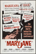 "Movie Posters:Exploitation, Maryjane (American International, 1968). One Sheet (27"" X 41"").Exploitation.. ..."